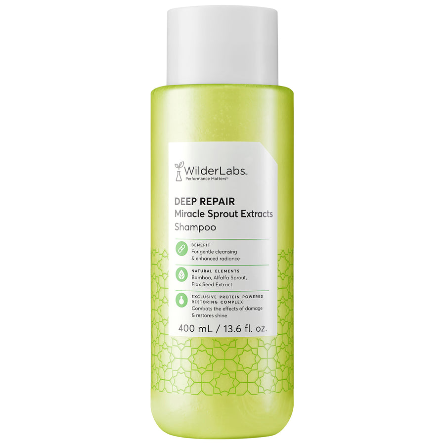 Deep Repair Miracle Sprout Extracts Shampoo | WilderLabs Haircare