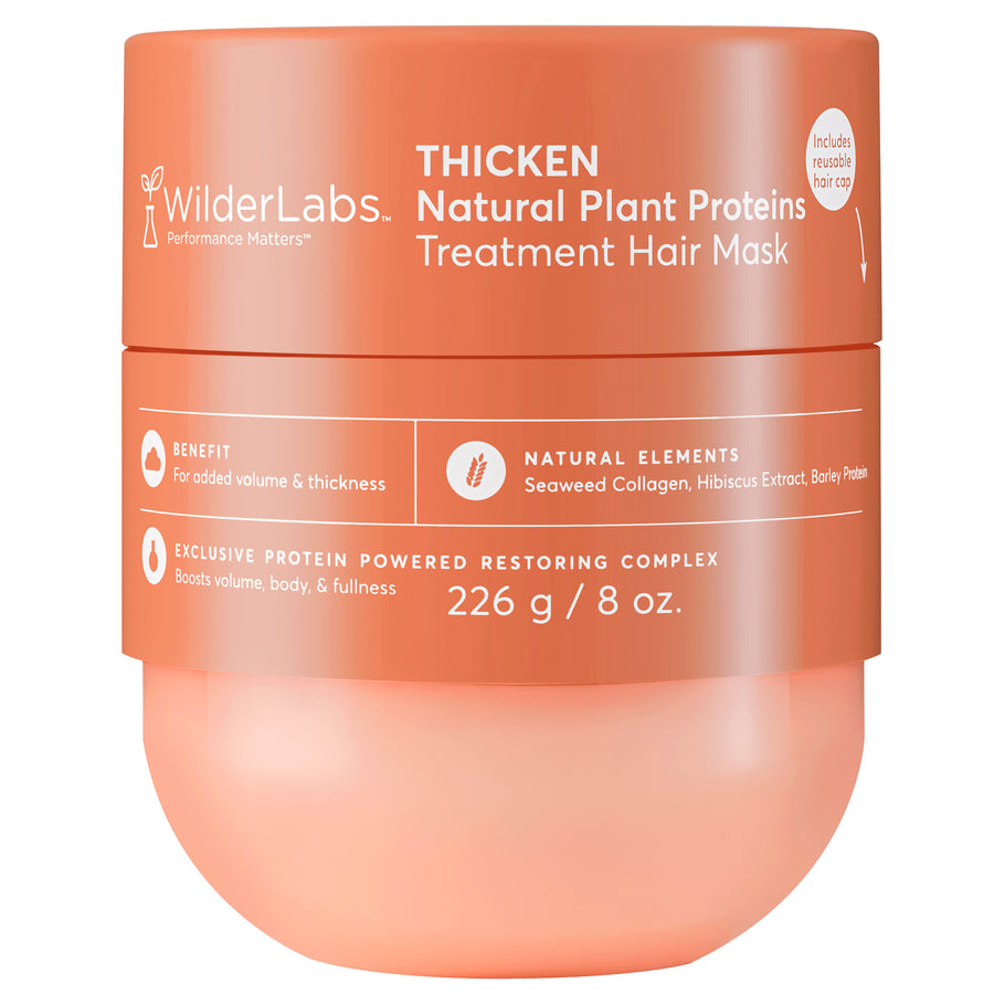 WilderLabs | THICKEN NATURAL PLANT PROTEINS HAIR MASK