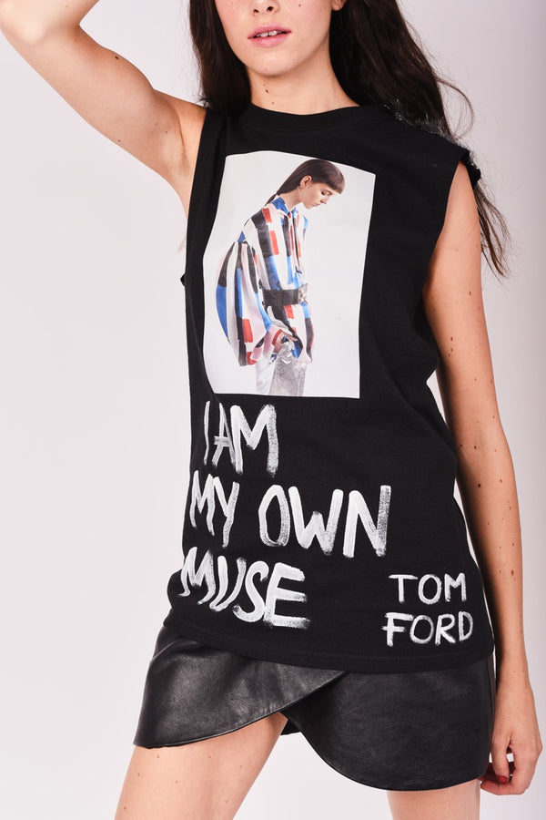 "T-shirt ""My own muse"""