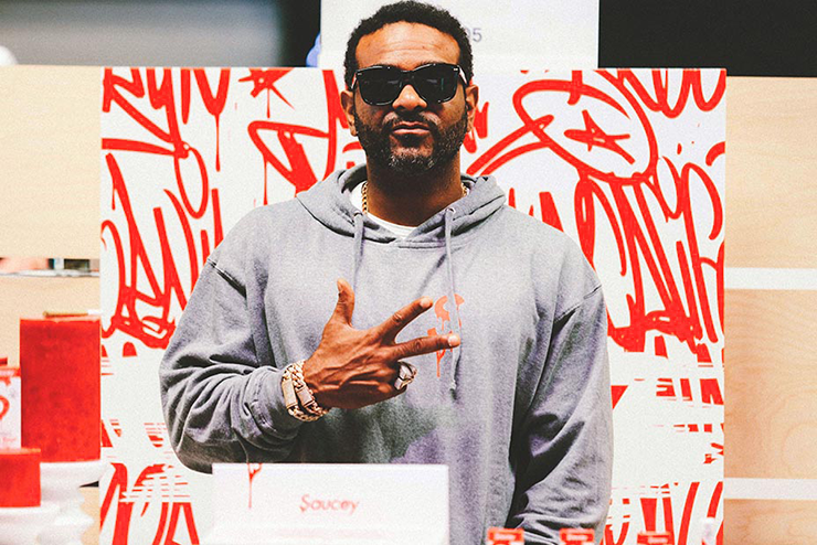 Jim Jones - Saucey Farms and Extracts © Tasha Bleu - Hollywood Reporter