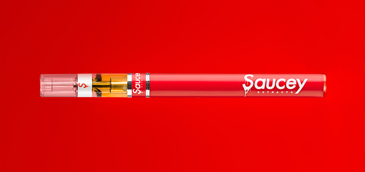 Saucey Extract Cartridges