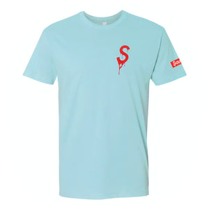 Saucey Extracts Light Blue T-Shirt