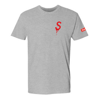 Saucey Extracts Heather Grey T-Shirt