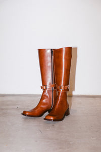 #282 CHUNKY SQUARE 2WAY JOCKEY BOOTS