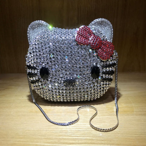 hello kitty handmade crystal bag ♥