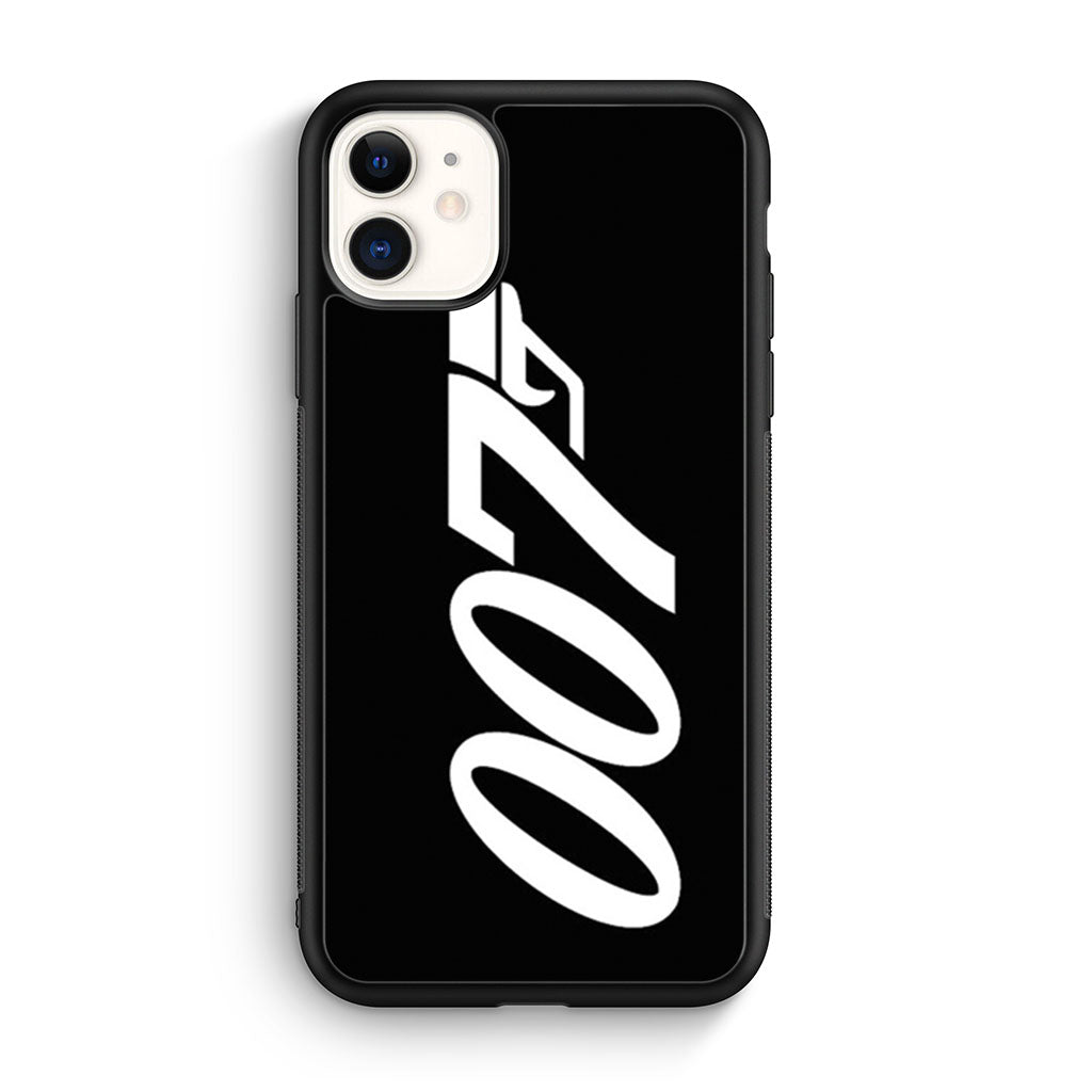 007 James Bond iPhone 11 black case