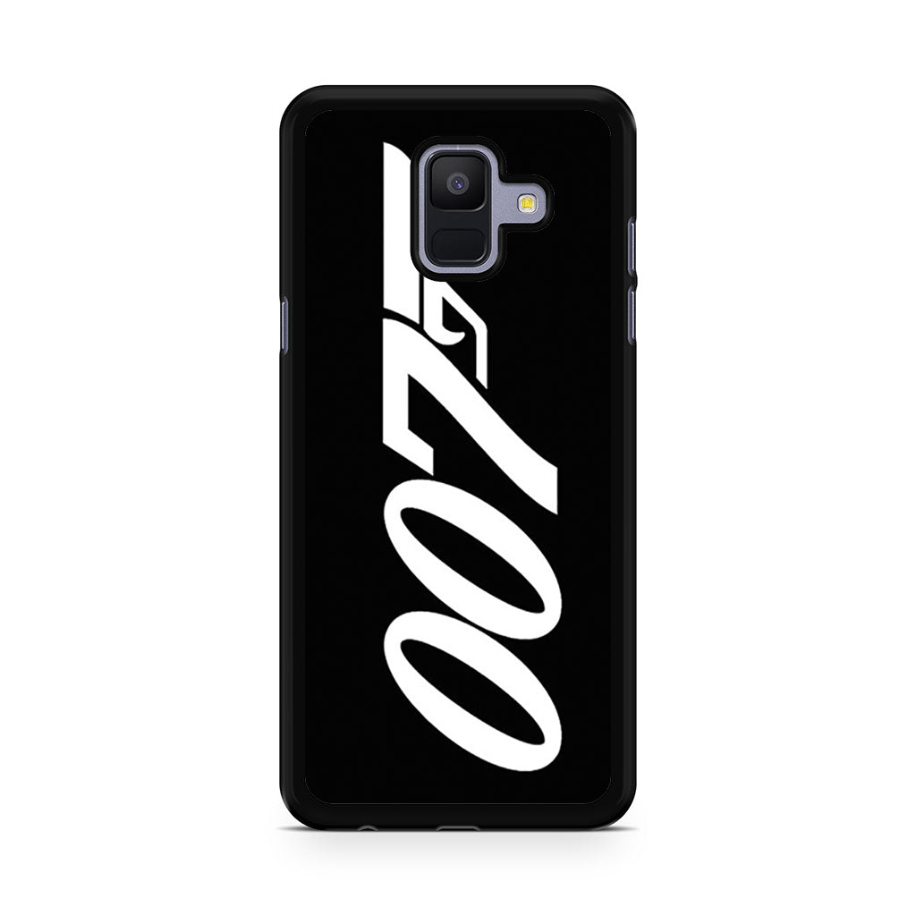 007 James Bond Samsung Galaxy A6 2018 case