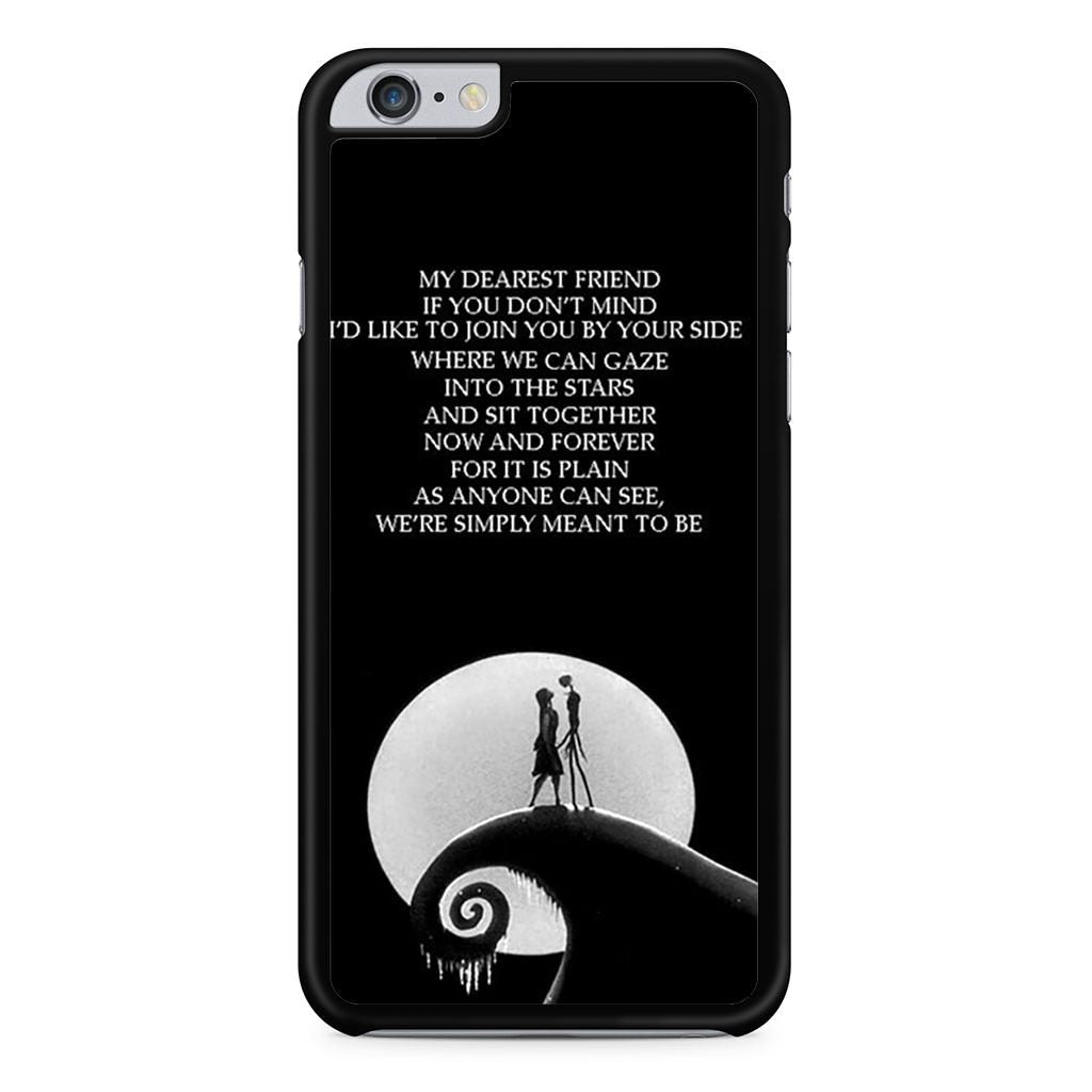 Nightmare Before Christmas Jack And Sally iPhone 6 Plus / 6s Plus case