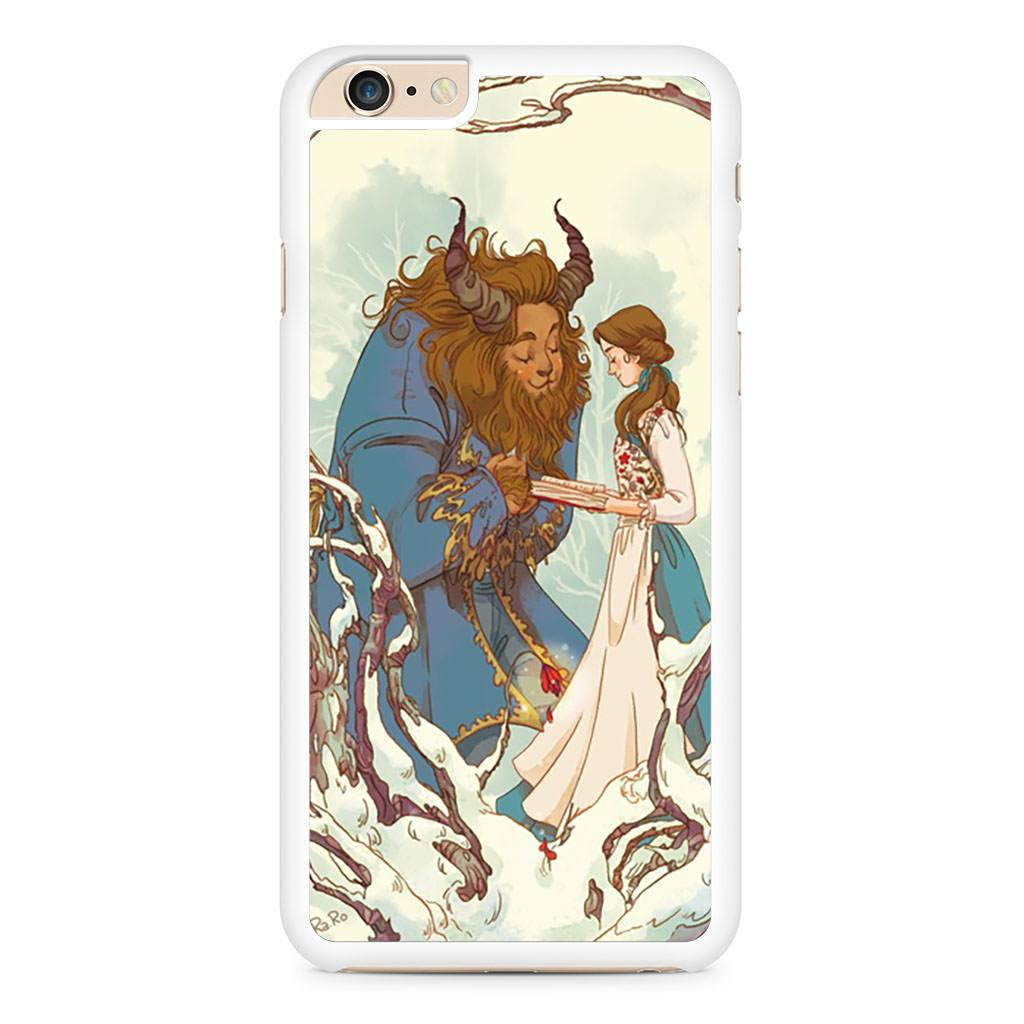 Drawing Beauty And The Beast iPhone 6 Plus / 6s Plus case