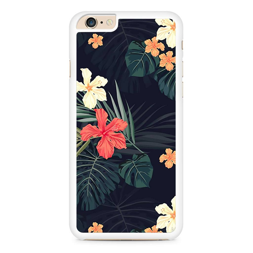 Dark Tropical Flowers iPhone 6 Plus / 6s Plus case