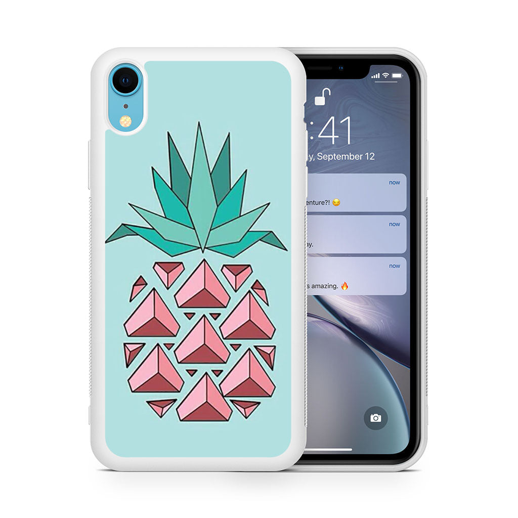Cute Pineapple iPhone XR case