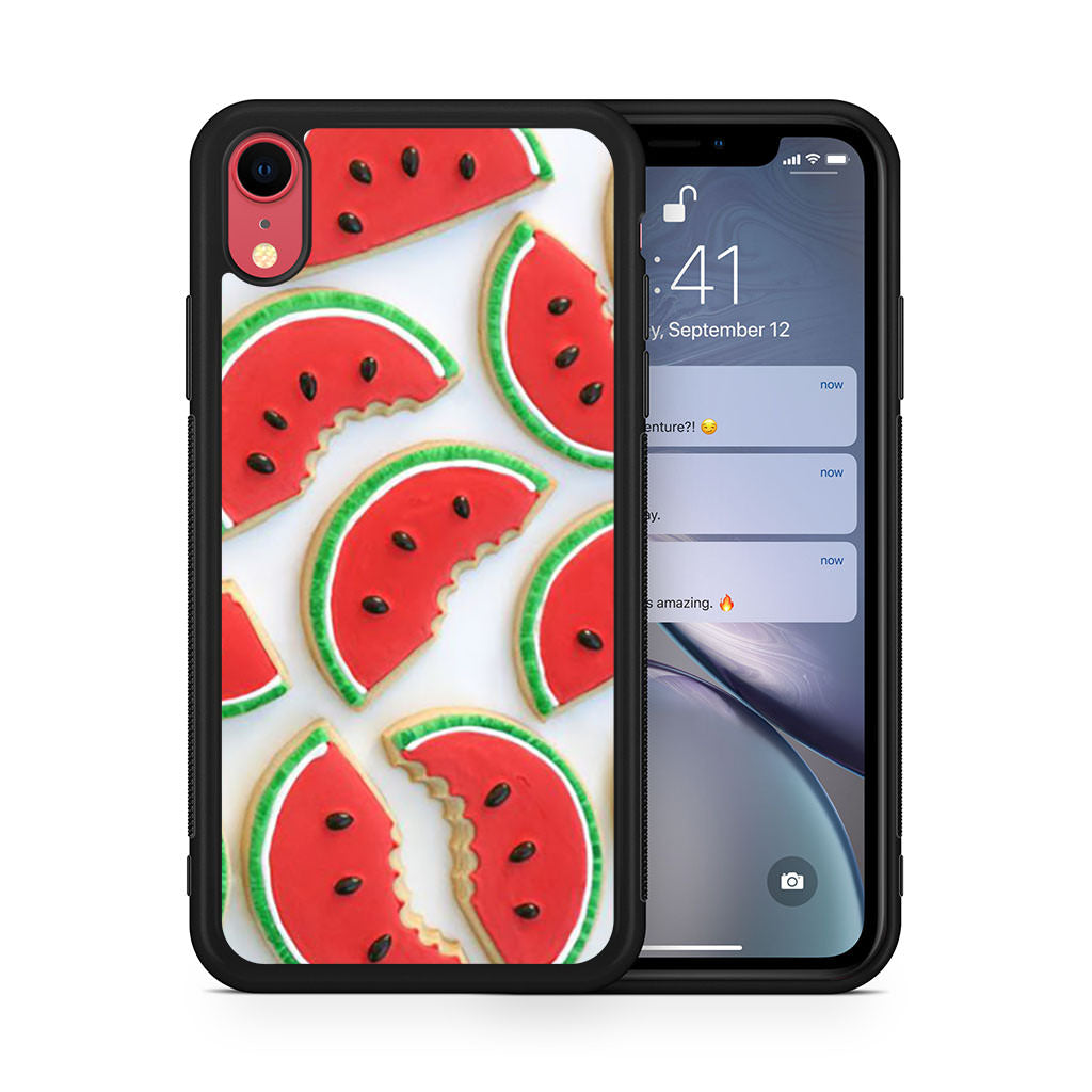 Watermelon Cookie iPhone XR case