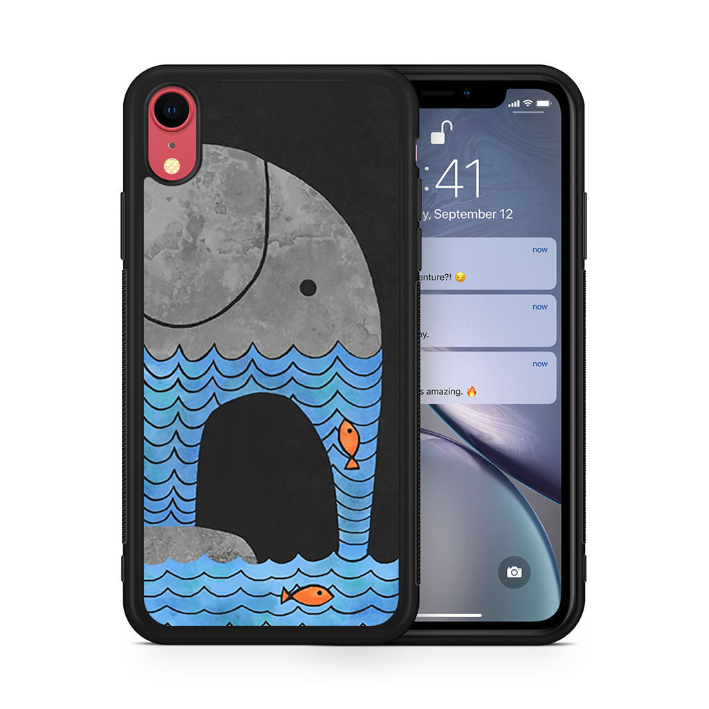 Thirsty Elephant iPhone XR case