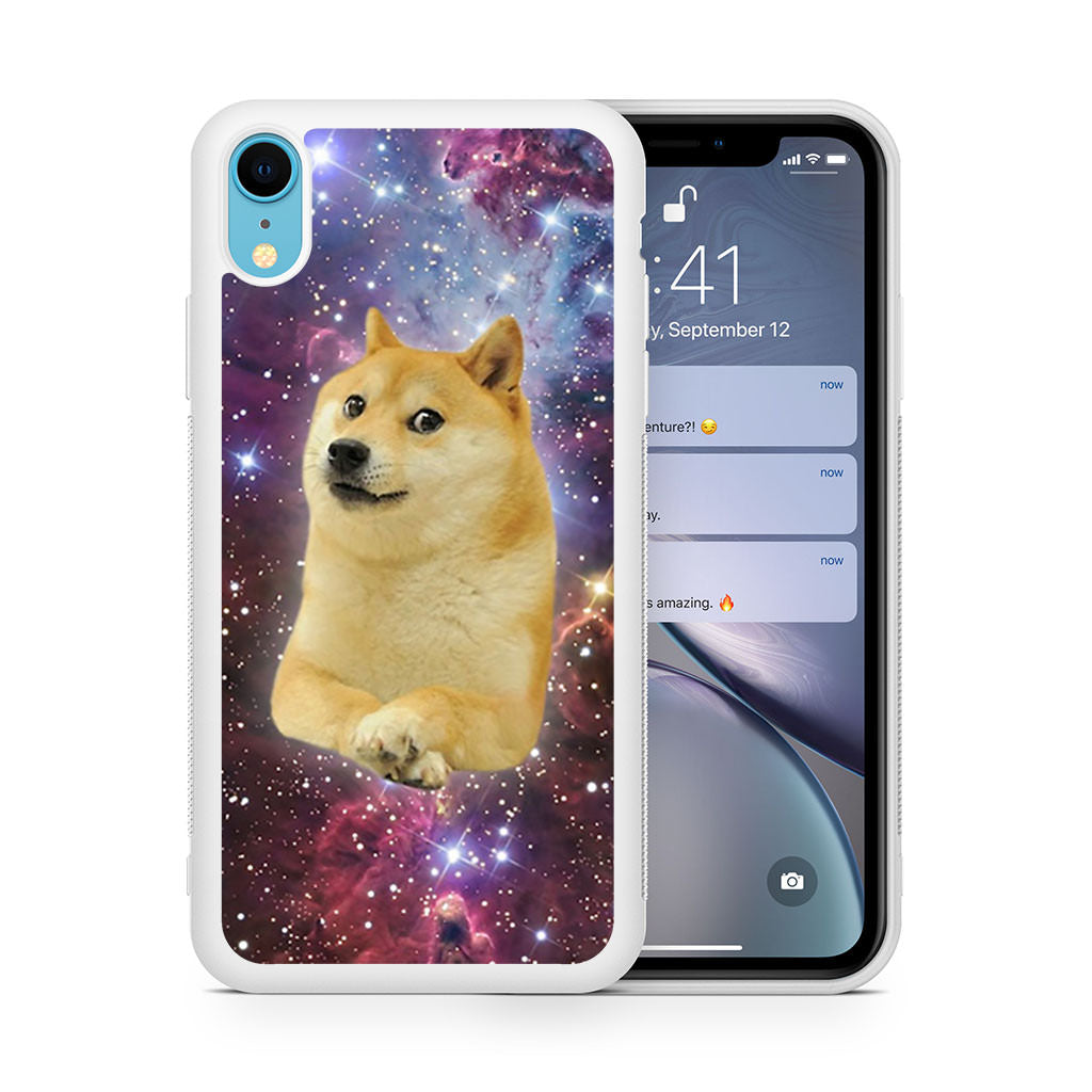 Doge Space Skins iPhone XR case