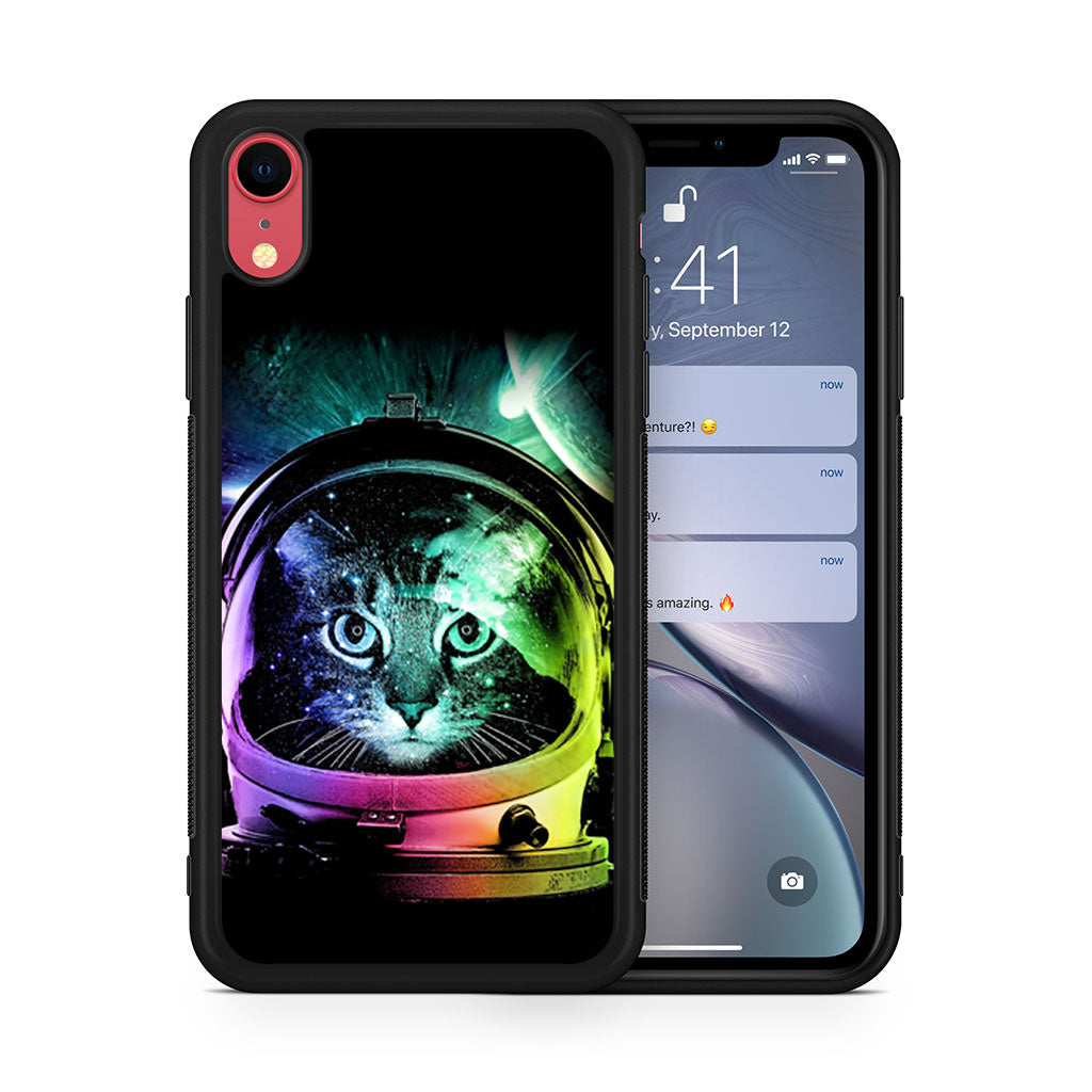 Astronaut Cat iPhone XR case