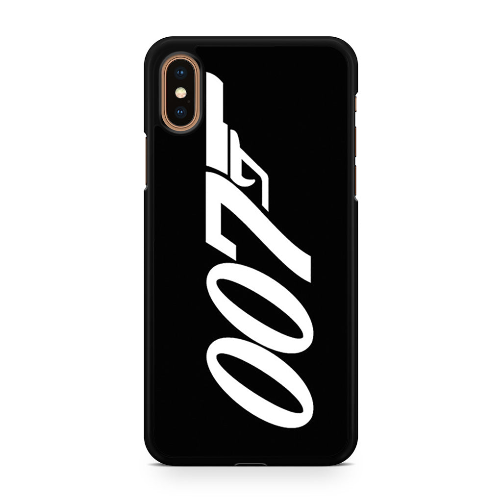 007 James Bond iPhone XS/XS Max case