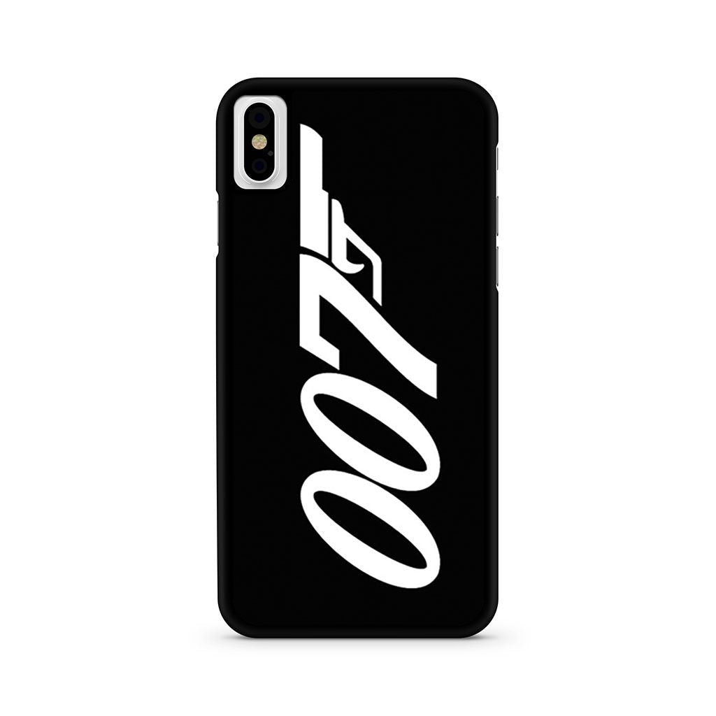 007 James Bond iPhone X case