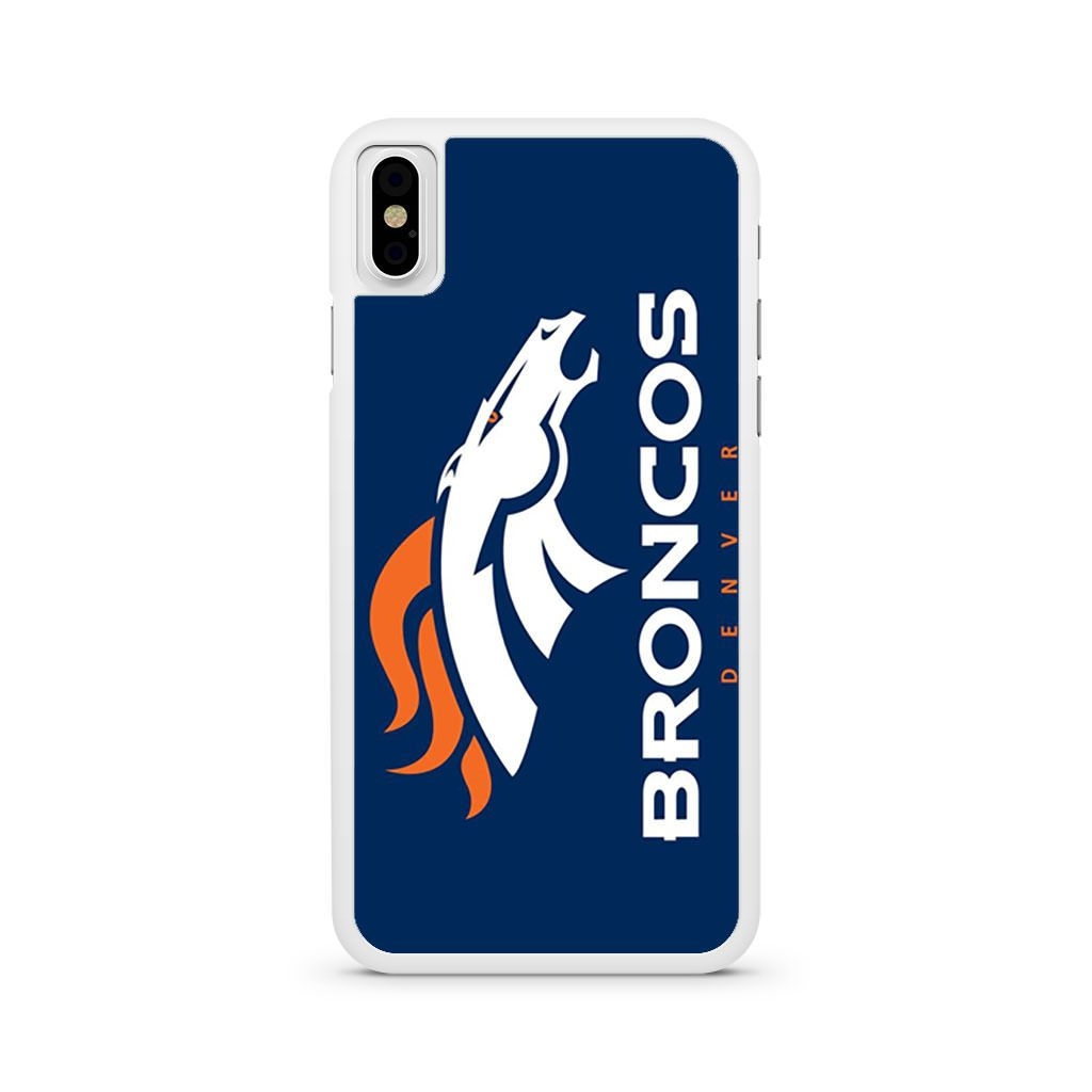 Broncos Denver Logo iPhone X case