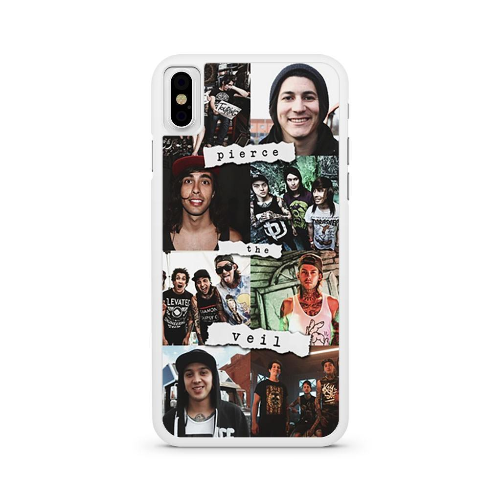 Pierce The Veil Collage iPhone X case
