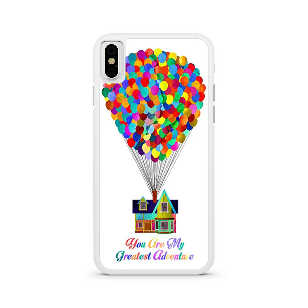 You Are My Greatest Adventure Up iPhone X case