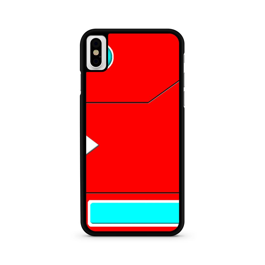 Pokedex Pokemon iPhone X case