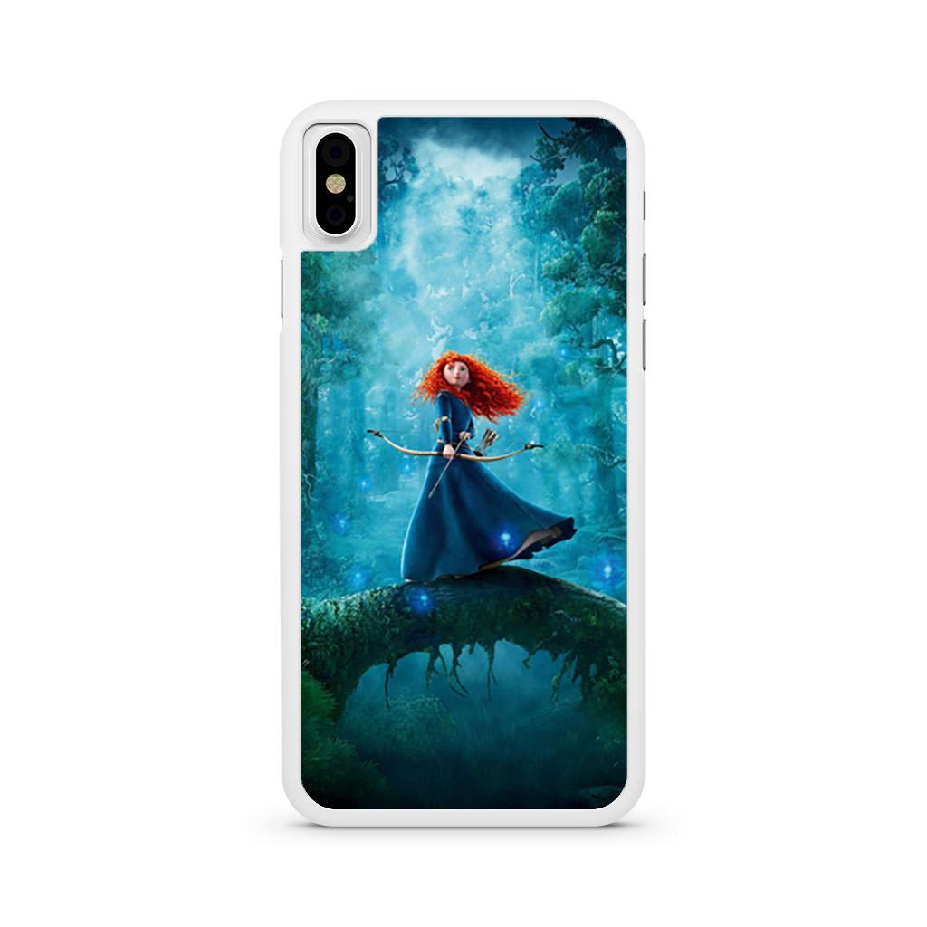 Princess Merida Brave iPhone X case