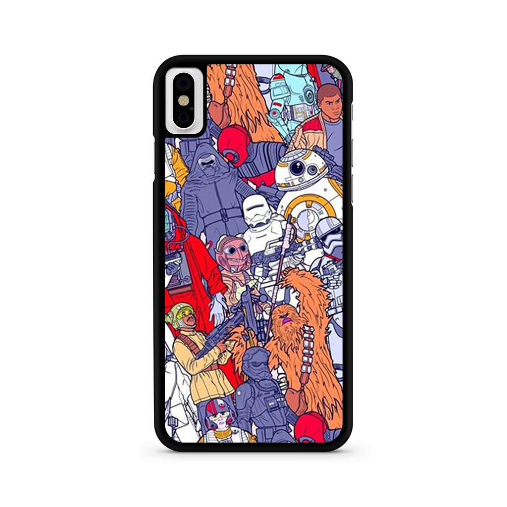 Star Wars The Force Awakens iPhone X case