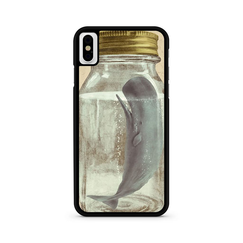 Whale In A Bottle iPhone X case