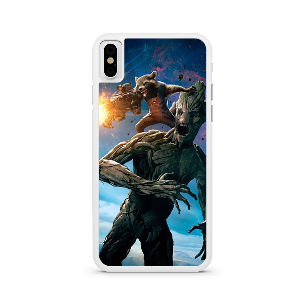 Rocket Groot Guardians Of The Galaxy iPhone X case