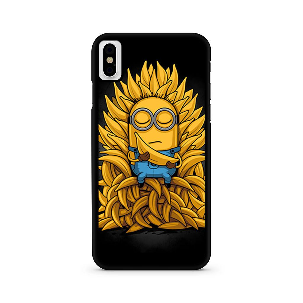 Minions Banana Game Of Thrones iPhone X case