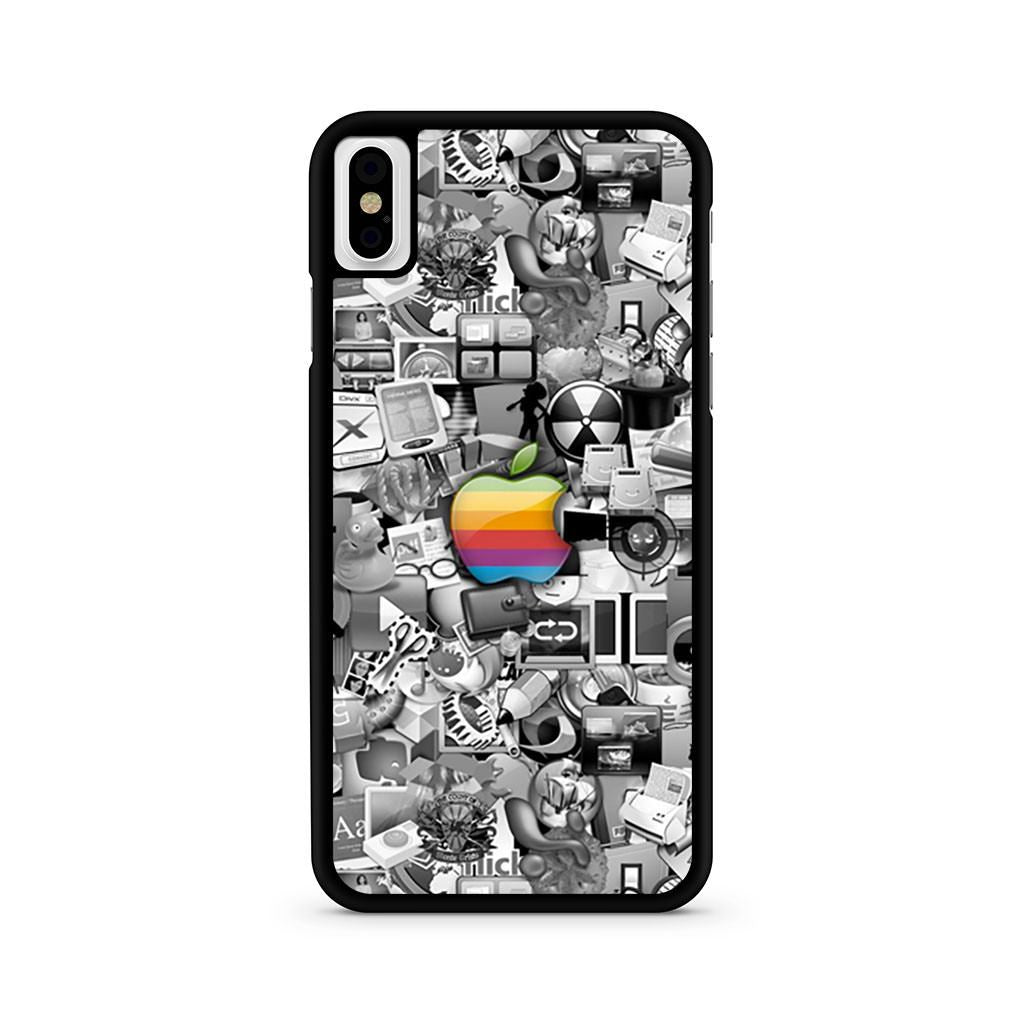 Apple Logo iPhone X case