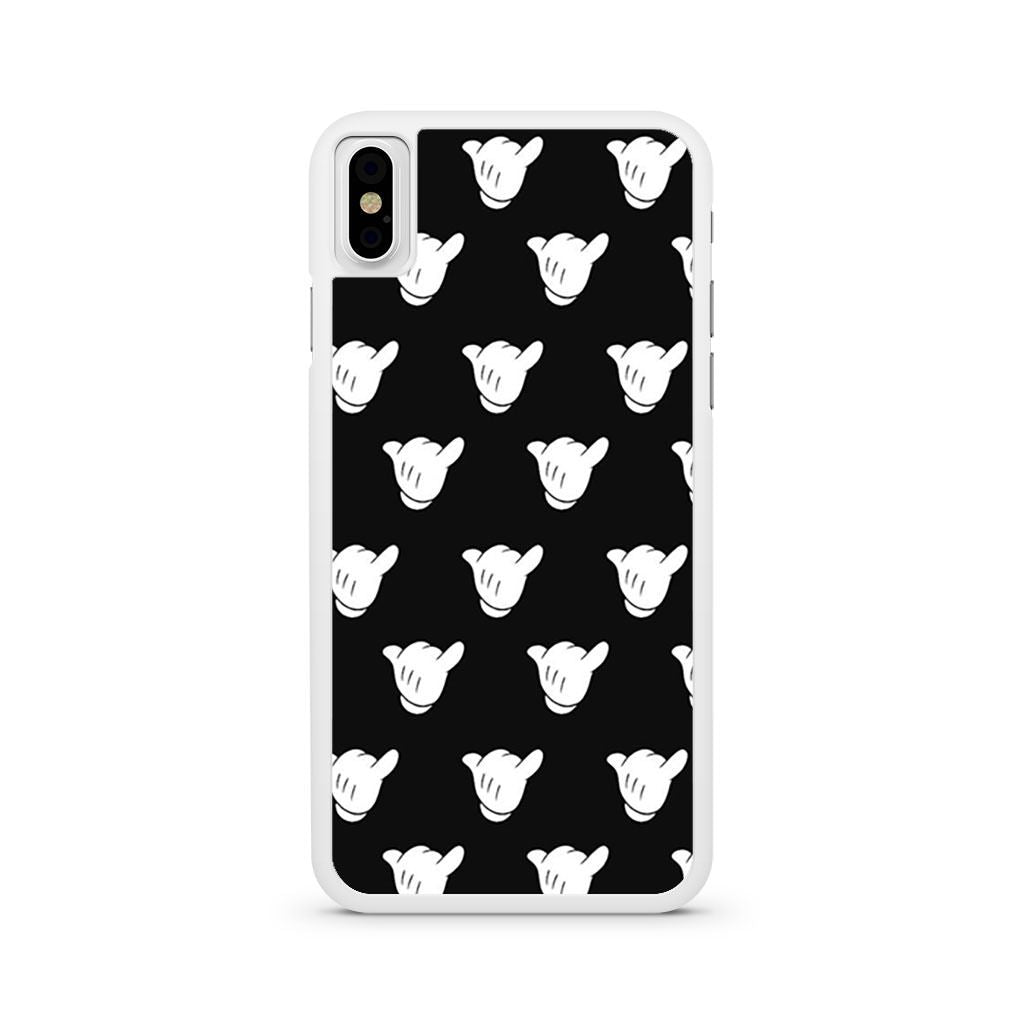 Mickey Hand iPhone X case