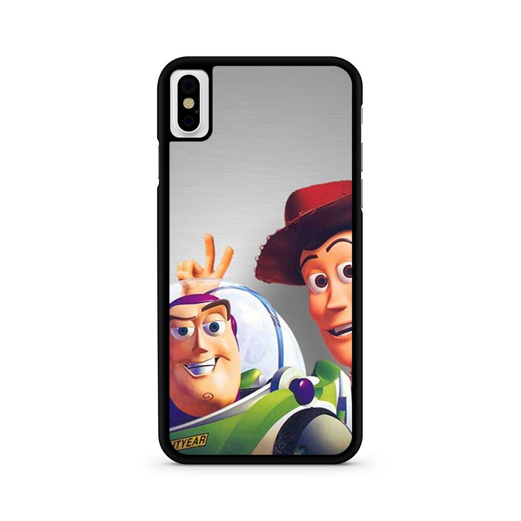 Toy Story Buzz Lightyear Woody iPhone X case