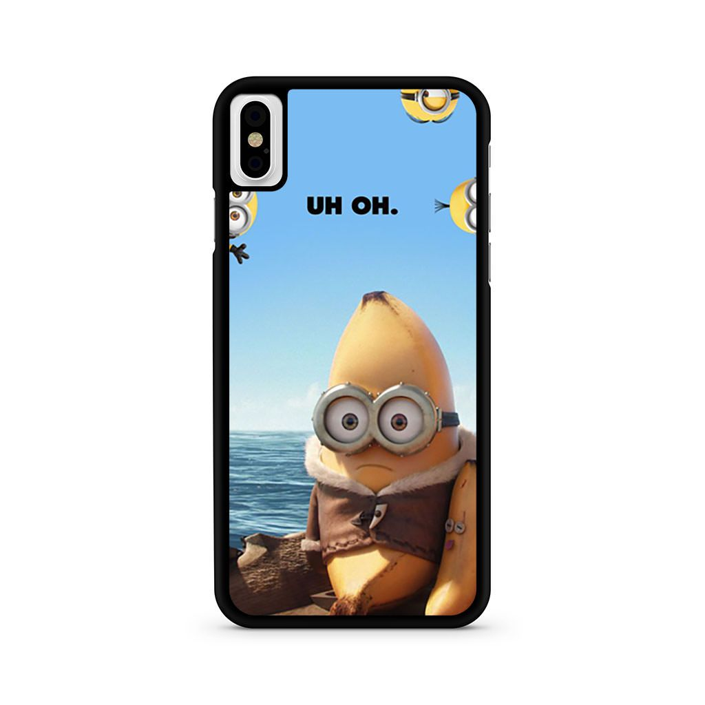 Minions UH OH iPhone X case