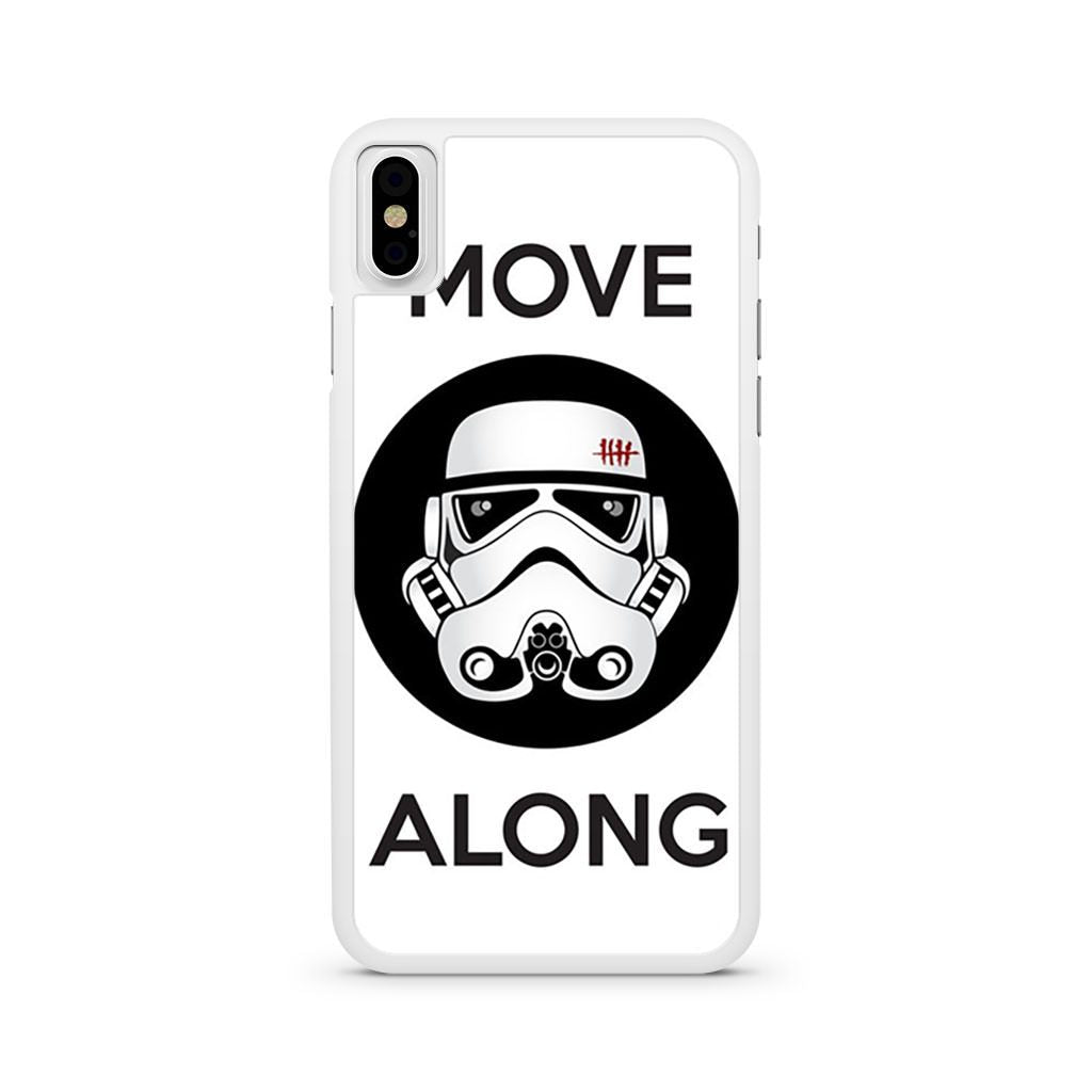 Stormtrooper Star Wars Move Along iPhone X case