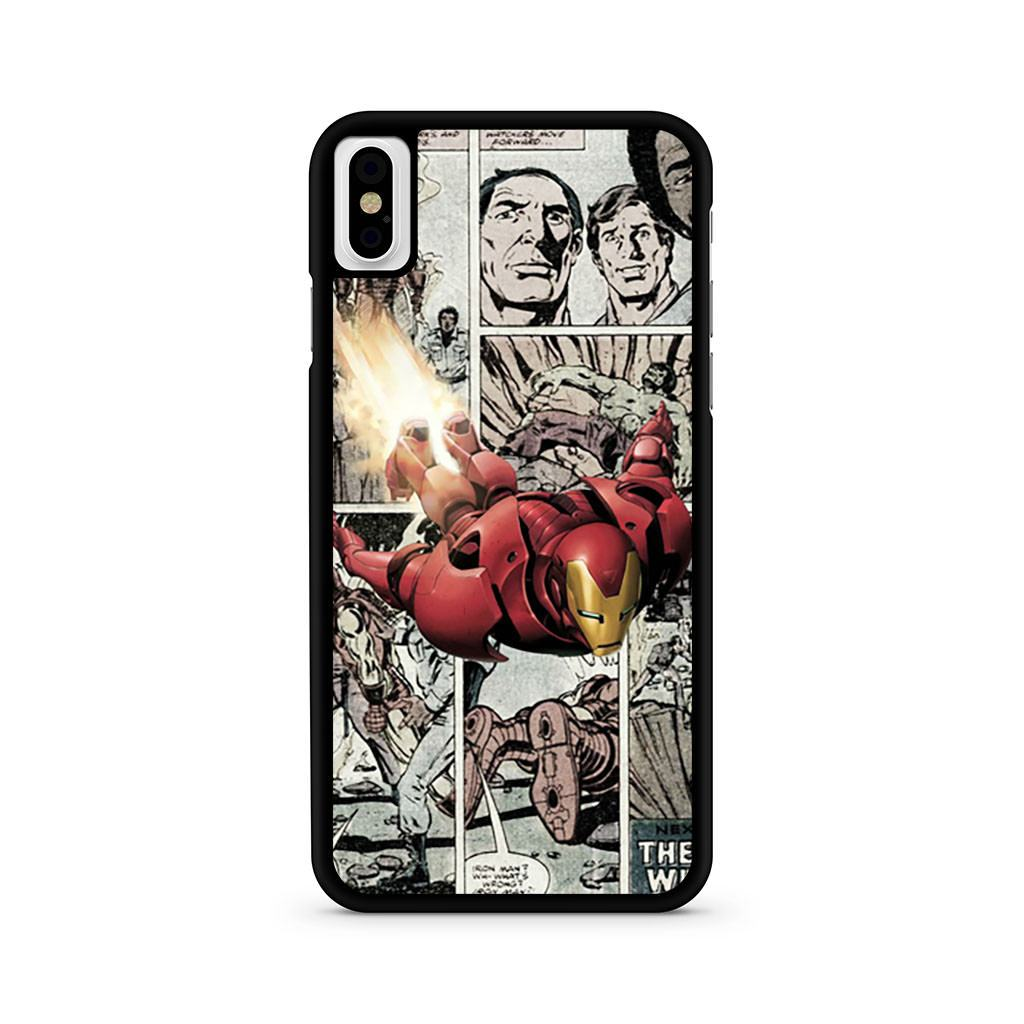 Iron Man Comics iPhone X case