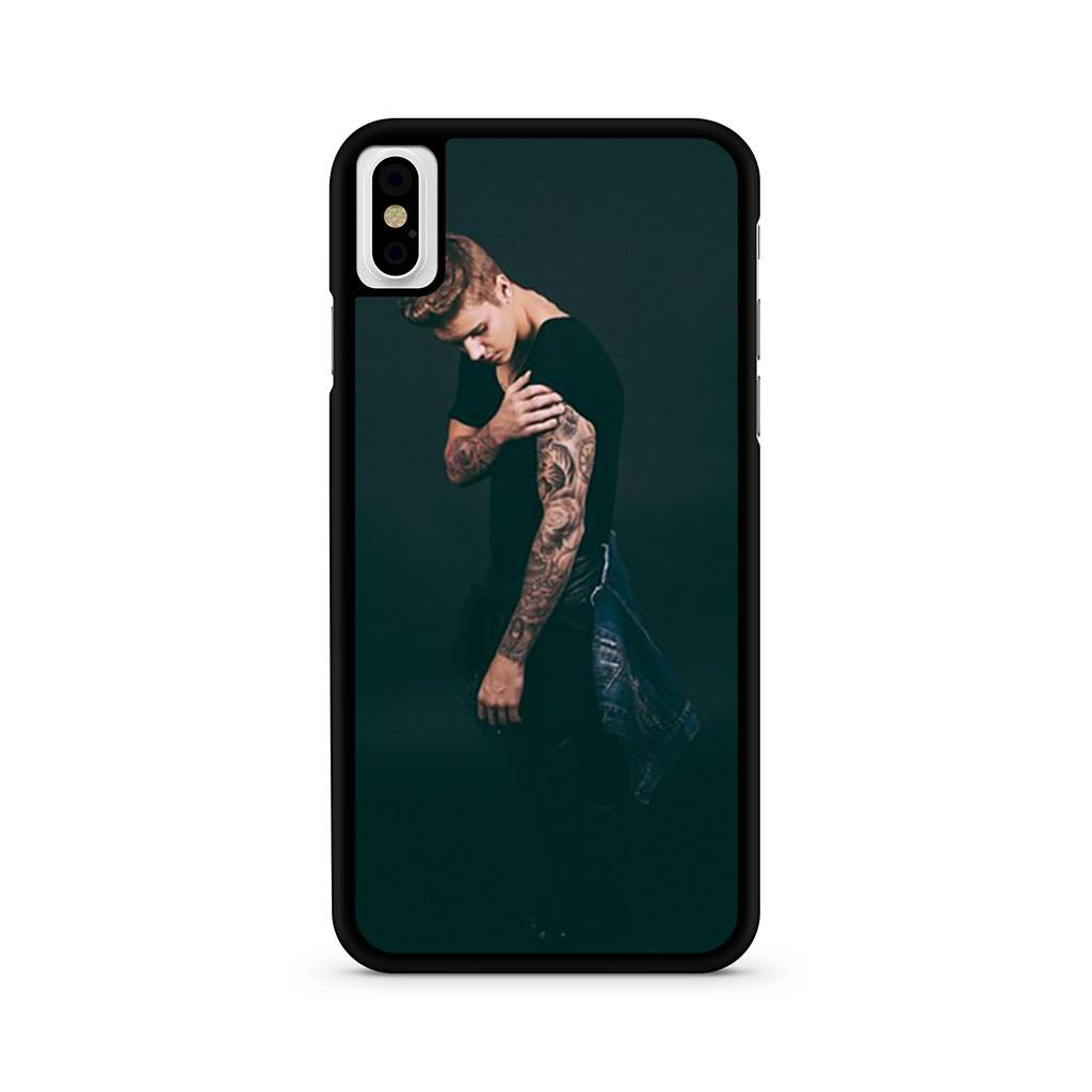 Justin Bieber iPhone X case