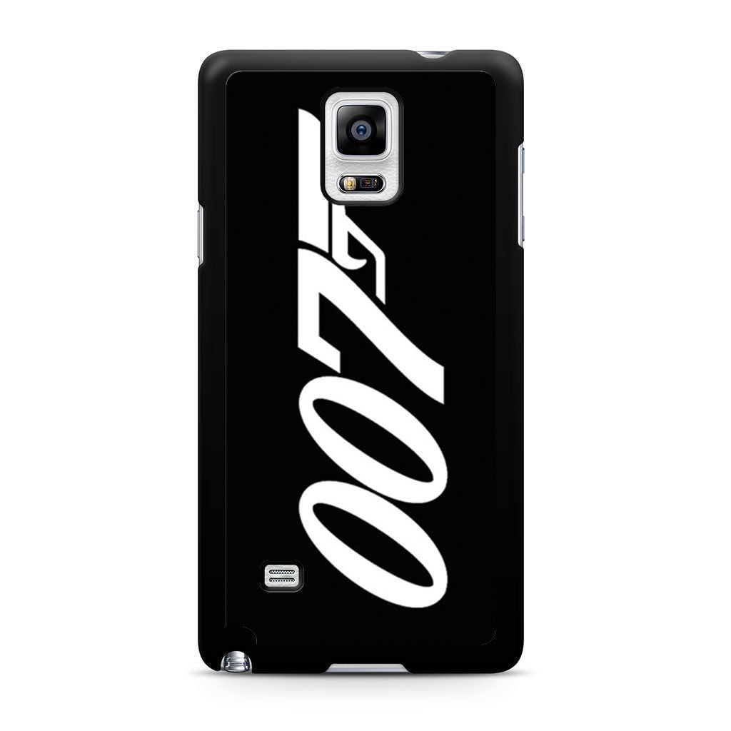 007 James Bond Samsung Galaxy Note 4 case