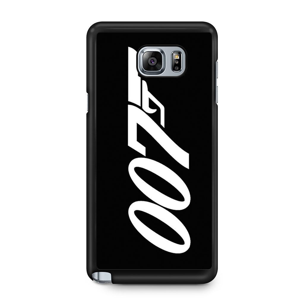 007 James Bond Samsung Galaxy Note 5 case