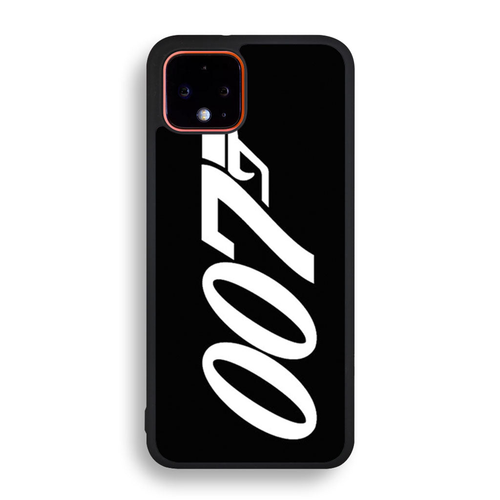 007 James Bond Google Pixel 4 XL Black case