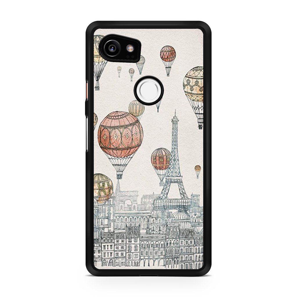 paris art pixel 2 pixel 2 xl case waregoodz. Black Bedroom Furniture Sets. Home Design Ideas