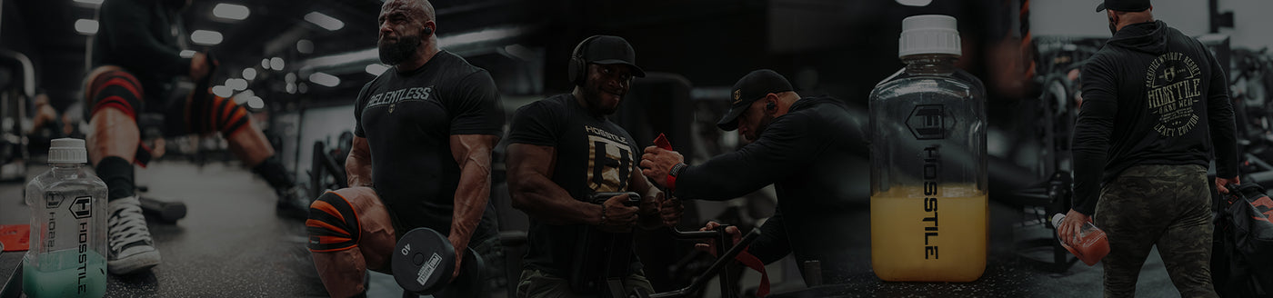 Bodybuilder Fouad Abiad training with Intra[R3] intra-workout supplement for energy and endurance
