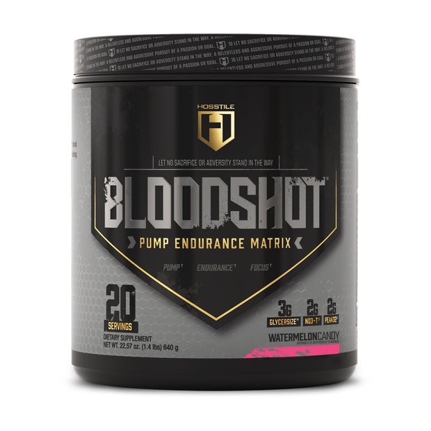 Hosstile Bloodshot Pump Pre-workout Watermelon Candy