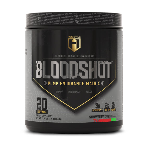 Hosstile Bloodshot Pump Pre-workout Strawberry Kiwi