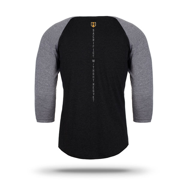 Hosstile Dark Knight Raglan T-Shirt Back