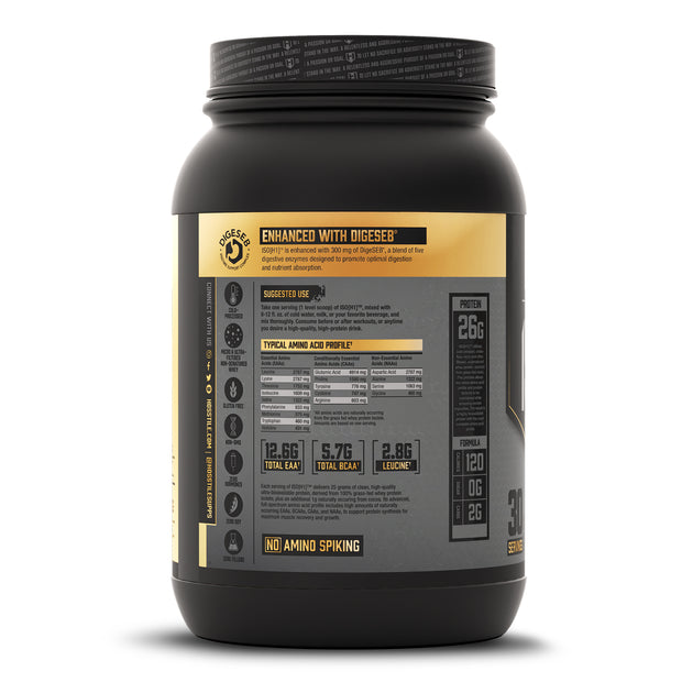 ISO[H1] Grass Fed Whey Protein Isolate Milk Chocolate Description