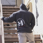 OG Hosstile Sacrifice Zip-Up Hoodie Back Lifestyle