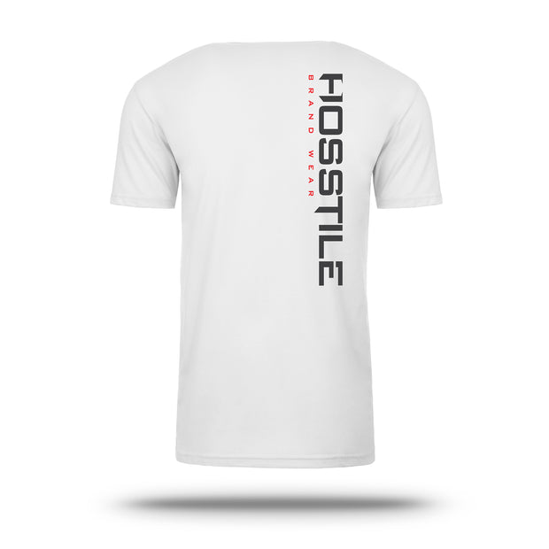 OG Hosstile Sacrifice T-Shirt White Back