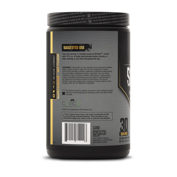 Hosstile Silo[9] Essential Amino Acids EAAs Hydration Orange Pineapple Directions