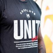Hosstile Unit T-Shirt Front Lifestyle Terry Bayley